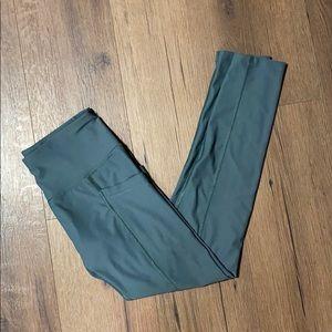 Apana Sage Green Side Pocket Leggings